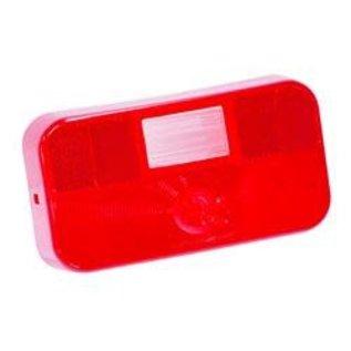 Bargman #92 Red Lens W/BU & License Light