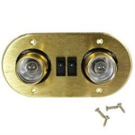 Arcon Brass Oval Aircraft Light