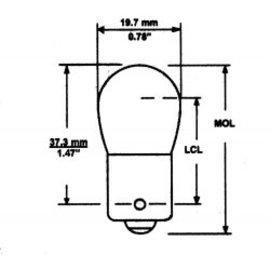 Camco 1004 Bulbs 2 Per Cd