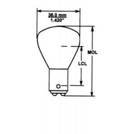 Camco 1139IF Bulbs 2 Per CD