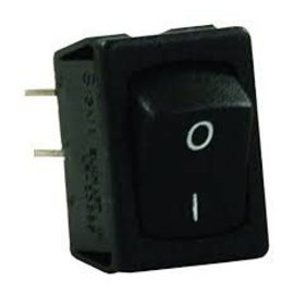 JR Products Black Mini On/Off Switch 1 pack