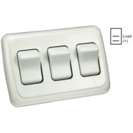 JR Products Triple Switch Assembley