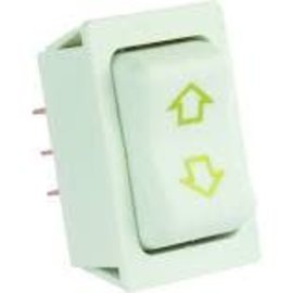 JR Products Slide Out Switch - High Current White