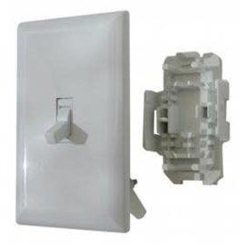 Diamond Group White Light Switch W/ Plate