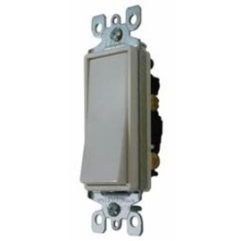 Diamond Group White Decorative Switch