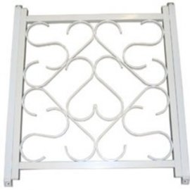 Camco Screen Door Grill White