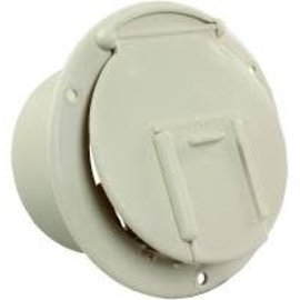 JR Products Round Cable Hatch