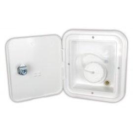 JR Products Gravity Water Hatch, Keylock PW
