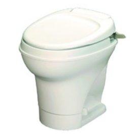 Thetford Aqua Magic V High Hand Flush Parchment