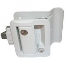 Fastec Fastec White Entrance Lock