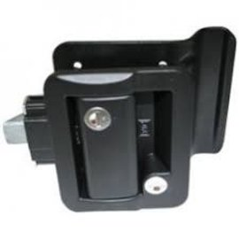 Fastec Fastec Black Entrance Lock