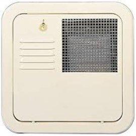 Suburban Flush Mount Water Heater Door 10 Gallon CW