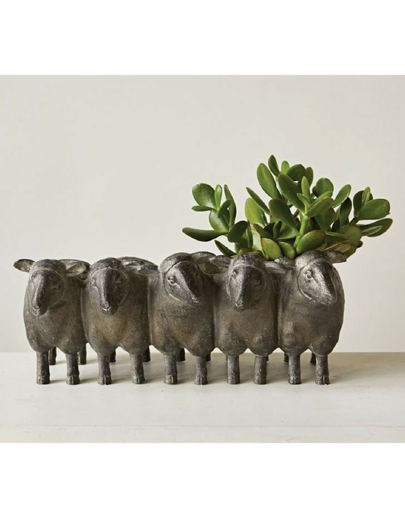 Resin Sheep Planter