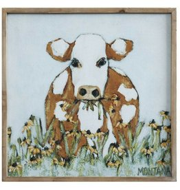 Canvas - Cow in Pasture