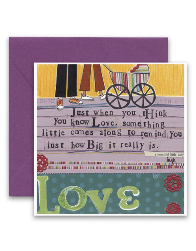 Baby Love Greeting Card Vintage 615 Living615