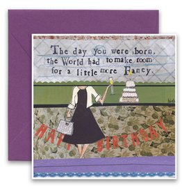 Make Room For A Little More Fancy Greeting Card