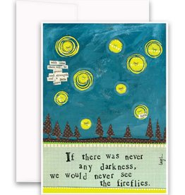Fireflies Greeting Card