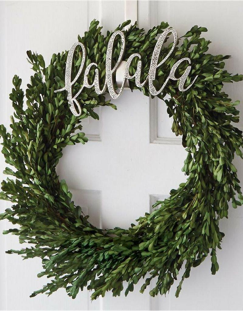 Preserved Boxwood Wreath