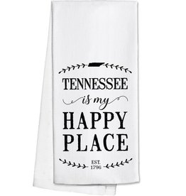 Tennessee Is My Happy Place Tea Towel