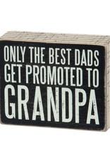 Box Sign - Best Grandpa