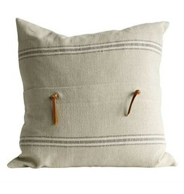 Pillow - Natural Square Cotton