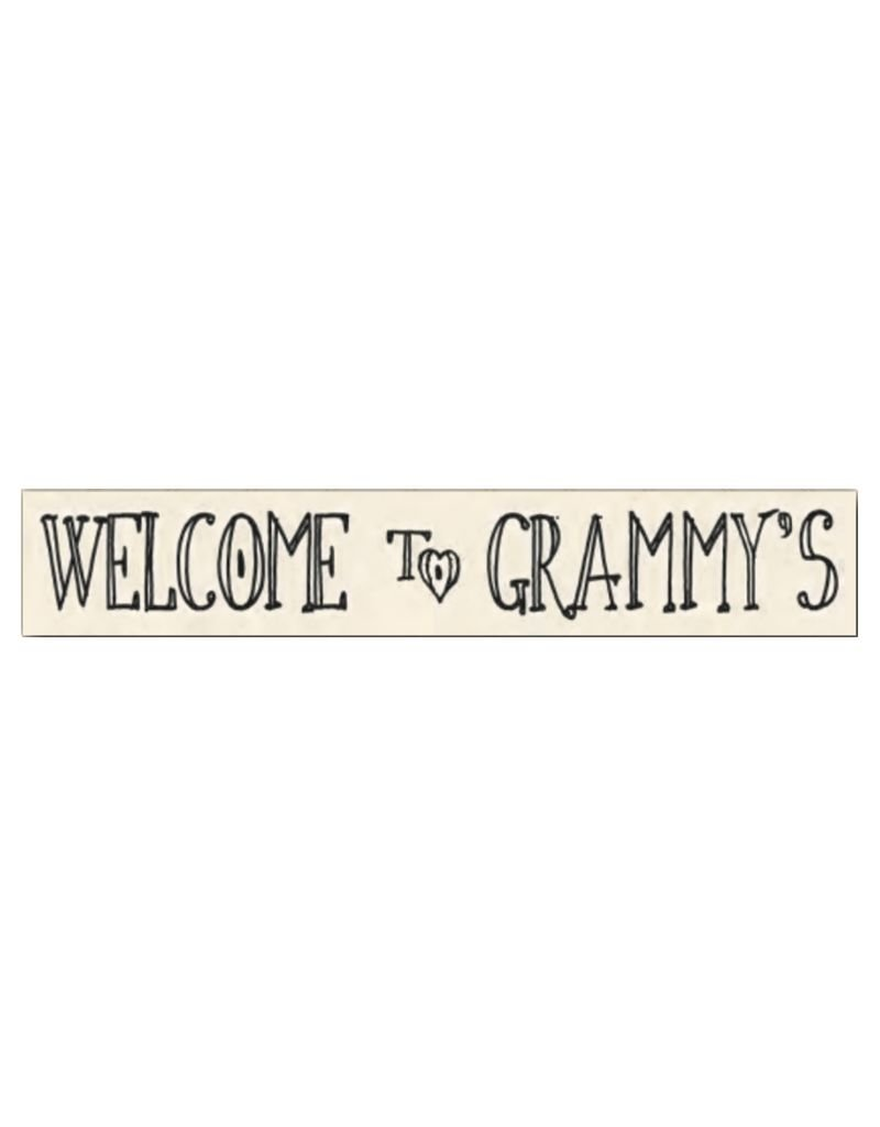 Welcome to Grammy's Sign