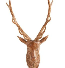 "Wall Mount Deer Head - 36"""