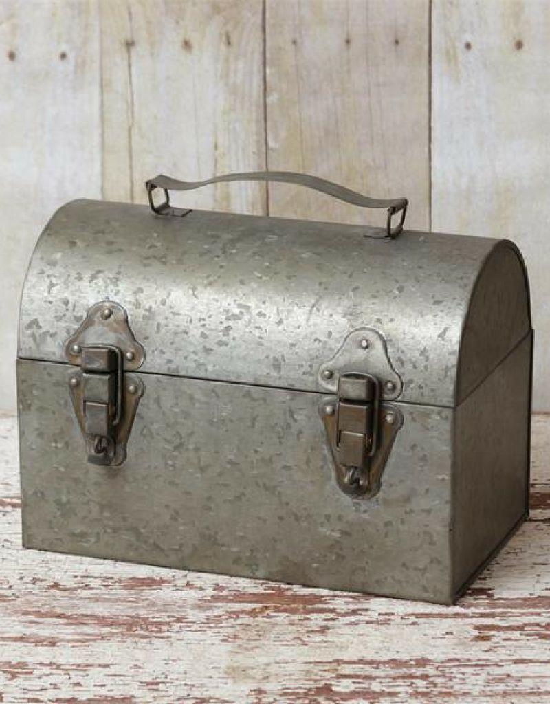 Vintage Inspired Metal Lunchbox
