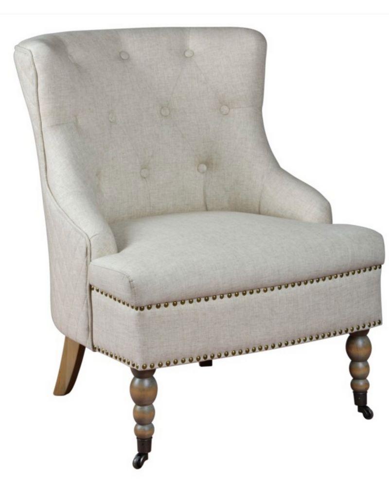 tufted wingback chair - Tufted Wingback Chair