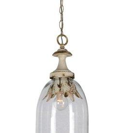 Glass Globe Single Bulb Pendant Light