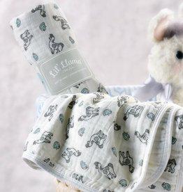 Lil' Llama Swaddling Blanket