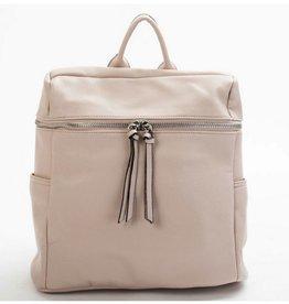 Tassel Closure Backpack / Purse