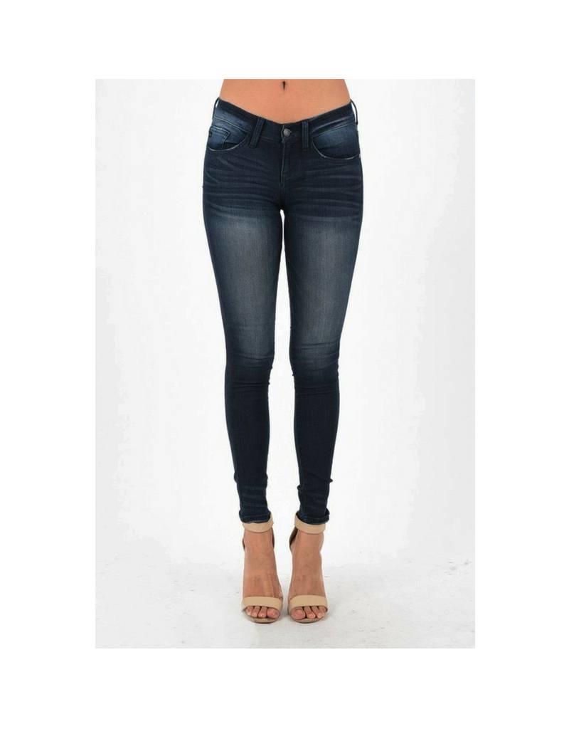 Judy Blue Skinny Jeans - Dark Wash