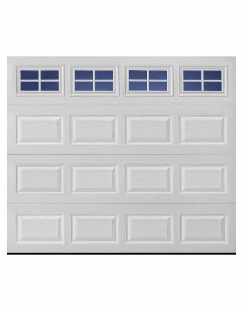 8x7 Insulated Single Garage Door With Windows Alpha Garage Doors