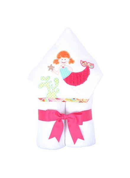3 Marthas 3 Marthas Hooded Towel - Merry Mermaid