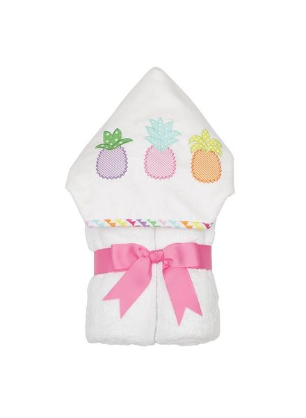 3 Marthas Hooded Pineapple Towel