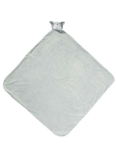 Angel Dear Grey Bulldog Nap Blanket