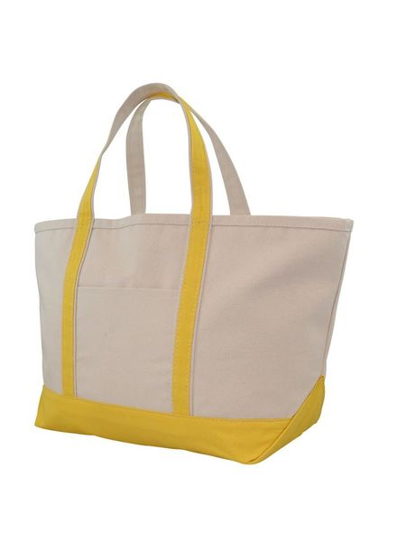 CB Station Yellow Large Boat Tote