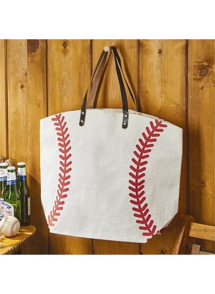 Two's Company Baseball Tote Bag