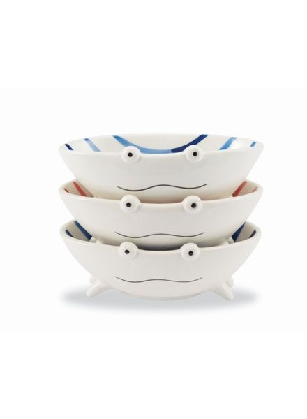 Mudpie Mudpie Stacked Dip Cup Set - Crab