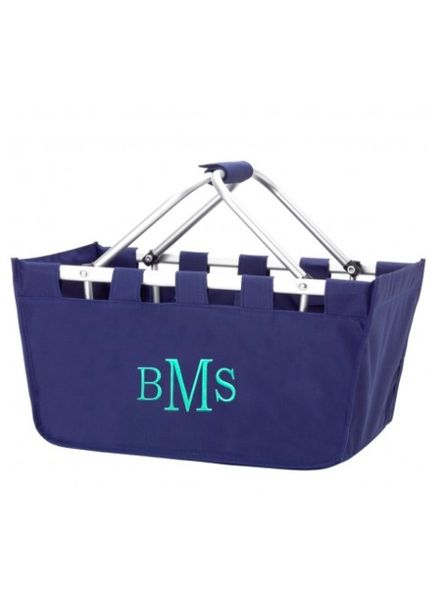 Wholesale Boutique Navy Market Basket