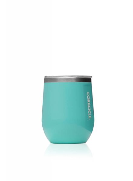 CORKCICLE Gloss Turquoise Stemless Wine