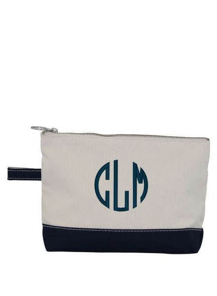 CB Station Navy Blue Make Up Bag