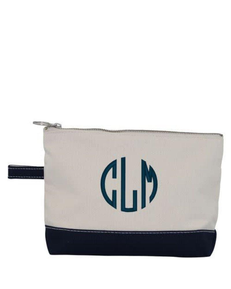cb station make up bag navy initial styles jupiter