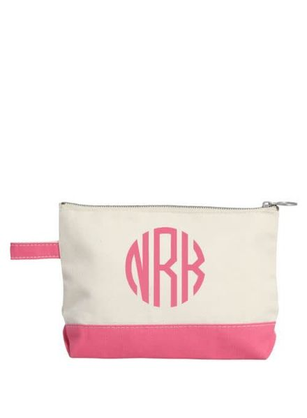 CB Station Coral Make Up Bag