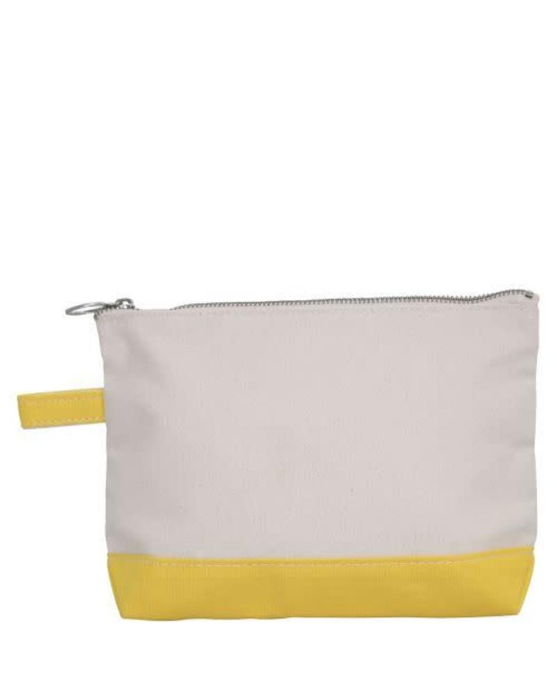 CB Station Yellow Make Up Bag