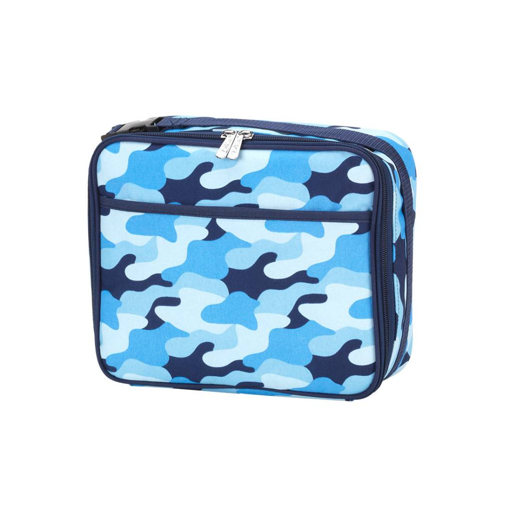 wb lunch box cool camo initial styles jupiter