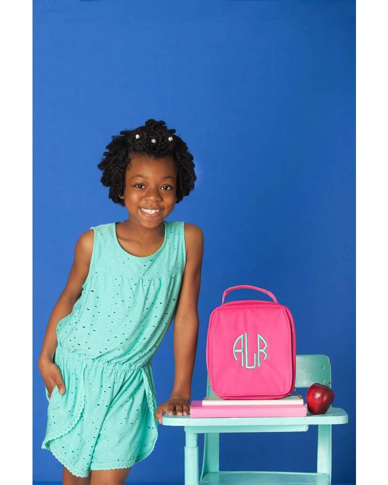 Wholesale Boutique Solid Pink Lunch Box