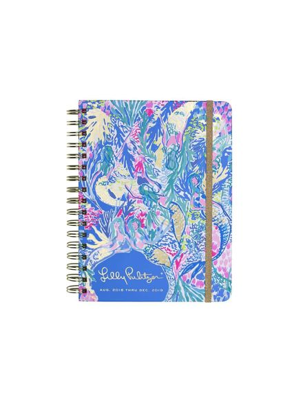 Lilly Pulitzer Mermaid Cove Large Agenda
