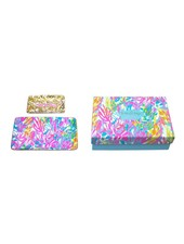 Lilly Pulitzer Fan Sea Pants Trinket Tray Set